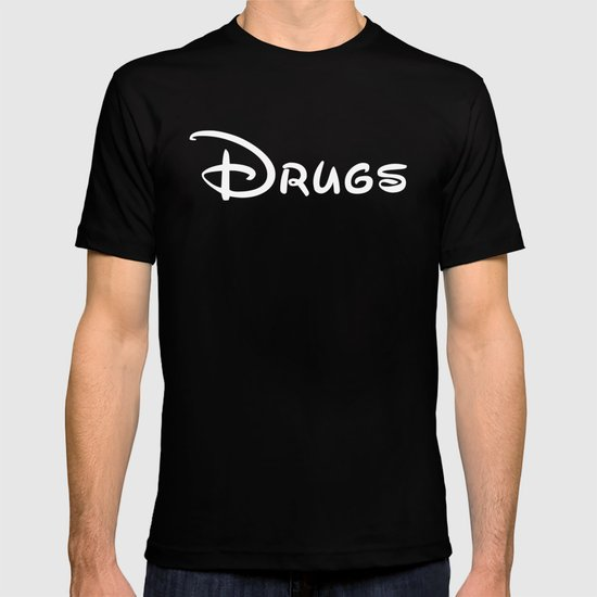 Drugs Disney T-shirt