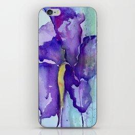 Bleeding Iris iPhone Skin