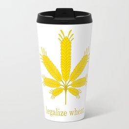 Legalize Wheat Travel Mug