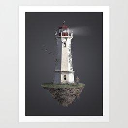 Lighthouse Isle  Art Print