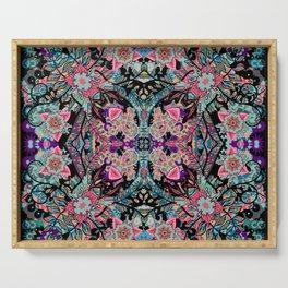 Mandala Colorful Boho Serving Tray