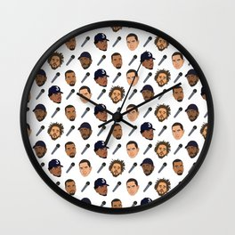 Rappers FL Wall Clock