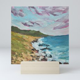 California, Big Sur Painting Mini Art Print
