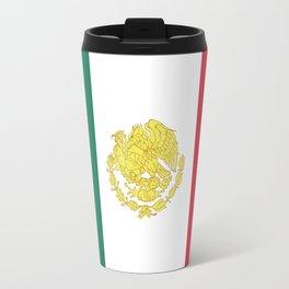 Trump the Serpent (Gold Coat) Travel Mug