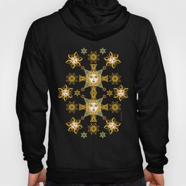 Snowflake Stars collection  by ©2018 Balbusso Twins Hoody