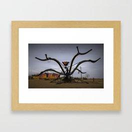 Spider Legs Framed Art Print