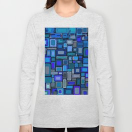 Abstract Composition 328 Long Sleeve T-shirt