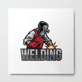 The Welding Metal Print