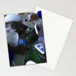 Sea Glass Assortment 4 Stationery Cards