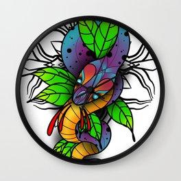 Serpentine. Wall Clock