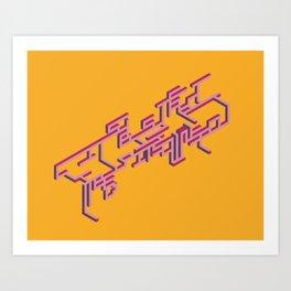 Stereo Art Print