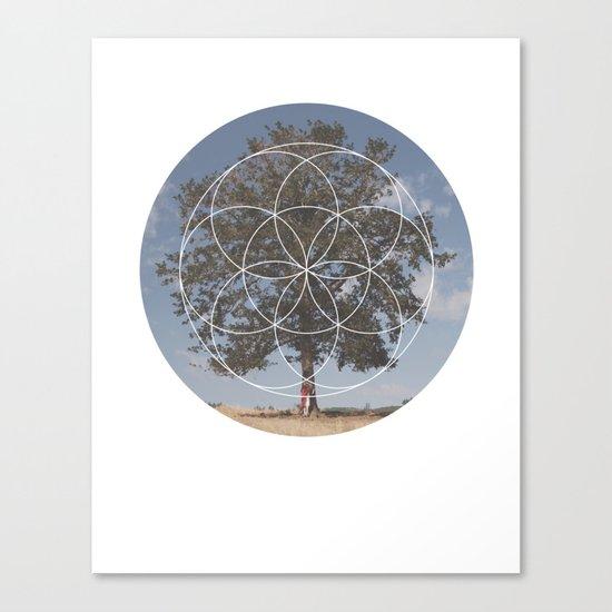 Free Tree Hugs - Geometric Photography Canvas Print