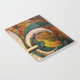 Patricia's Fleur de Lis Notebook