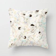 Circuitring Throw Pillow