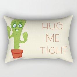 Hug the Cactus Rectangular Pillow