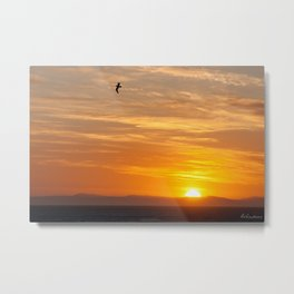 Sunset over the ocean - Landscape Photography #Society6 Metal Print