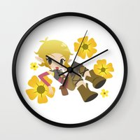 dragon age Wall Clocks featuring Dragon Age - Buttercup Sera by Choco-Minto