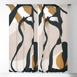 Abstract Shapes 35 Blackout Curtain
