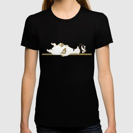 Holiday Polar Bear and Penguin T-shirt