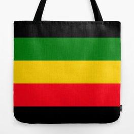 Rastafarian Colors Tote Bag