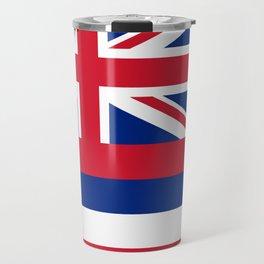 State flag of Hawaii Travel Mug