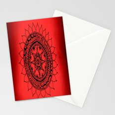 the monsters inside my head are scared of love Stationery Cards