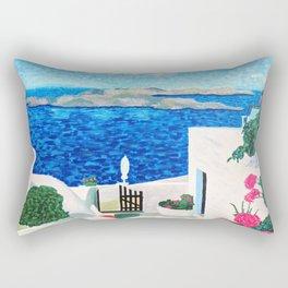 Santorini Rectangular Pillow