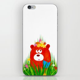 in the Grass iPhone Skin
