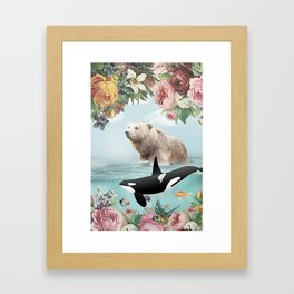 Seaing is Believing Framed Art Print