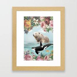 Seaing is Believing Framed Art Print