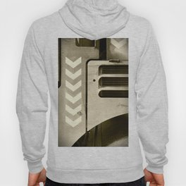Road Roller Chevron 05 - Industrial Abstract Hoody