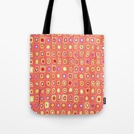 Aztec Red Pattern Tote Bag