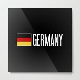 Germany: Germany & German Flag Metal Print