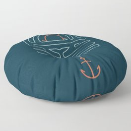 The Tale of the Whale Floor Pillow