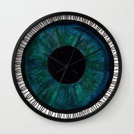 Eye of Cecile  Wall Clock