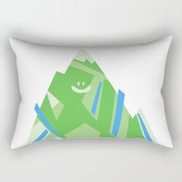 Smiley Mountain Rectangular Pillow