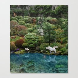 .....swimmingly Canvas Print