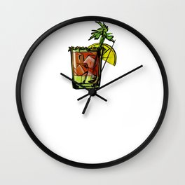 Bloody Mary Making Mornings Better Since 1921 Wall Clock