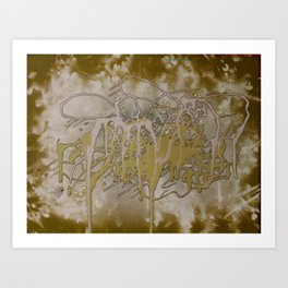 Green Mangroves 1  Art Print