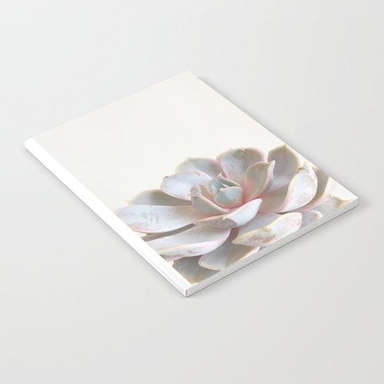 Pink Succulent Notebook
