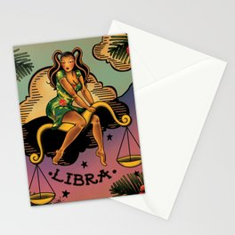 Tattoo Libra Stationery Cards