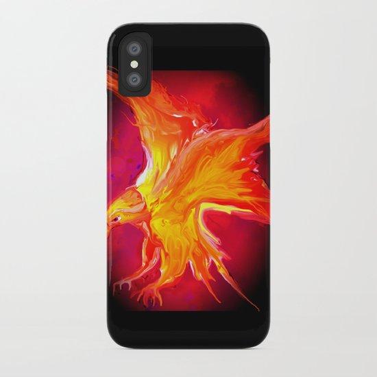 FIRE BIRD iPhone Case