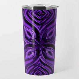 Ultraviolett Metallic Style Engraved Surface Travel Mug