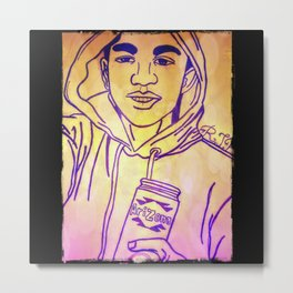 Trayvon Martin Metal Print