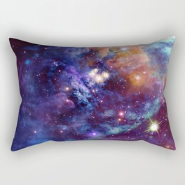 Bright nebula Rectangular Pillow