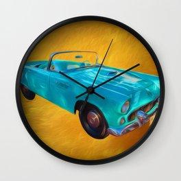 T Bird Wall Clock