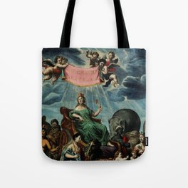 DUNNO MUCH ABOUT GEOGRAPHY Tote Bag
