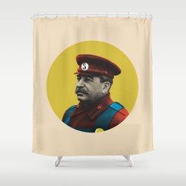 Soviet Mario Shower Curtain
