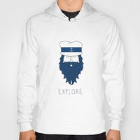 explore Hoodies featuring EXPLORE by Anthony Morell