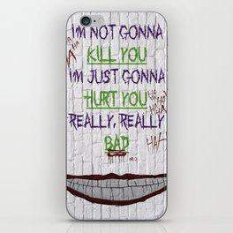 REALLY, REALLY BAD JOKER iPhone Skin
